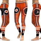 Philadelphia Flyers Hockey NHL Sports Fitness Leggings 2018
