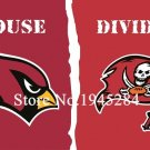 Arizona Cardinals Tampa Bay Buccaneers House Divided Flag 3x5ft