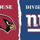 Arizona Cardinals New York Giants House Divided Flag 3x5ft 150x90cm