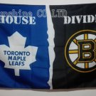 Toronto Maple Leafs Boston Bruins House Divided Flag hot sell goods 3X5FT 150X90CM