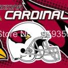 Arizona Cardinals Helmet Flying Flag Banner flag 3ft x 5ft 100D Polyester