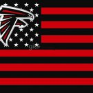 Atlanta Falcons NFL flag, selling hot goods 3X5FT 150 X 90 CM 100D polyester,