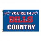 Buffalo Bills US flag with star and stripe 3x5 FT flag
