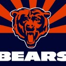 Top design Chicago Bears flag 90x150cm polyester banner with 2 Metal Grommets