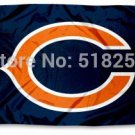 Chicago Bears Flag 3x5 FT Banner 100D Polyester  flag 172, free shipping