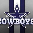 Dallas Cowboys logo with stripes Flying Flag Banner flag 3ft x 5ft