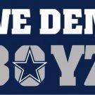 Dallas Cowboys we dem boys flags 90x150cm polyester digital print banner