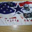 Dallas Cowboys Flag 3 x 5 FT 100D polyester Banner
