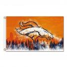 Denver Broncos Flag Design World Series Football   Bowl Champions 3ft X 5ft