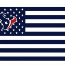 Houston Texans US flag with star and stripe 3x5 FT banner