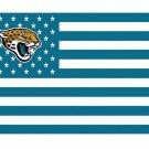Jacksonville Jaguars US flag with star and stripe 3x5 FT Banner