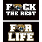 3X5FT 90 x 150 cm Jacksonville Jaguars 100% Polyester life and the rest flag