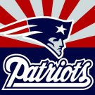 New England Patriots flag 90x150cm polyester banner with 2 Metal Grommets