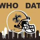 Top design New Orleans Saints flag 90x150 cm polyester flag with 2 Metal Rings1