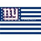 new york giants Flag 3ft x 5ft Polyester NFL new york giants Banner Flying
