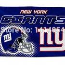 New York Giants Helmet logo Flag 150X90CM Banner 100D Polyester3x5 FT
