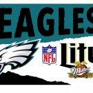 Philadelphia Team Eagles Miller Lite Nylon Indoor Outdoor High Quality Football Flag 3X5ft