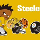 Pittsburgh Steelers Cowboys Large Nylon Indoor Outdoor High Quality Football Flag 3X5 ft