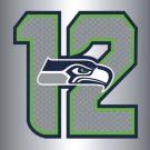 Seattle Seahawks Team Logo Sports Banners Flags 3ftx5ft Banner