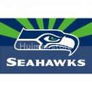 Seattle Seahawks digital print Color bar Banner flag 3ft X 5ft
