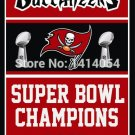 Tampa Bay Buccaneers Super Bowl Champions Flag 150X90CM Banner