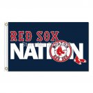 Nation Boston Red Sox Flag Fans Baseball Team Custom Banners 3x5 FT