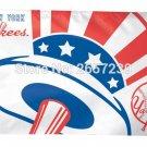 3x5FT MLB New York Yankees Flag banner150X90CM 100D Polyester