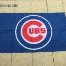 Chicago Cubs Flag 3ft x 5ft Polyester MLB Chicago Cubs Banner Flying