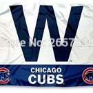 Chicago Cubs W LOGO column Flag 3x5FT banner