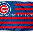 Chicago Cubs Flag 3ft x 5ft Polyester Chicago Cubs Banner Flying