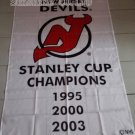 New Jersey Devils 3 Time Stanley Cup Champions flag hot sell goods 3x5 FT