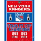 New York Rangers champions flag 90x150cm polyester digital print banner