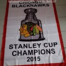 Chicago Blackhawks 2015 Stanley Cup Champions Flag hot sell goods 3X5FT
