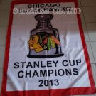 Chicago Blackhawks 2013 Stanley Cup Champions Flag hot sell goods 3X5FT