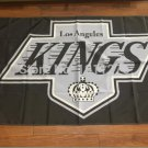 Los Angeles Kings Flags lifting high quality handmade banner  3x5 Ft