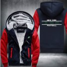 New York Jets Hoodies Pattern Coats Super Warm Thicken Fleece Men's Coat Style 2