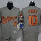 10 Adam Jones Men Stitched Jersey Size S to 3 XL grey