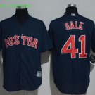 41 Chris Sale Men Stitched Jersey Size S to 3 XL black