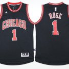 1 Derrick Rose Stitched Jersey Size S to 3 XL black 2