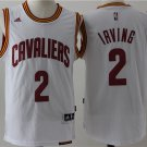 2 Kyrie Irving Stitched Jersey Size S to 3 XL white