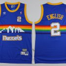 2 Alex English Stitched Jersey Size S to 3 XL blue