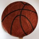 "18"" BASKETBALL MYLAR BALLOON FREE SHIPPING"