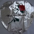 "18"" VALENTINE MAKE IT A MEMORY LOVE MYLAR BALLOON FREE SHIPPING"