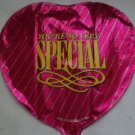 "18"" VALENTINE YOU'RE SO VERY SPECIAL LOVE MYLAR BALLOON FREE SHIPPING"