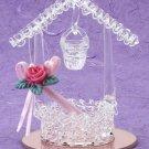 21782 ~ Wishing Well Spun Glass ~ Ceramic Treasures