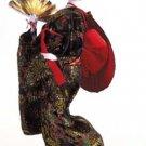 29107 ~ Japanese Doll w/ Fan & Hat ~ Ceramic Treasures
