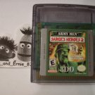 Army Men: Sarge's Heroes 2 For Game Boy / Color / Advance / Sp  GameBoy Games