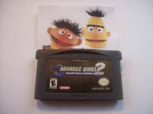 Advance Wars 2 Black Hole Rising Game Boy Games GameBoy