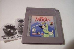 DISNEY'S MULAN Nintendo Game Boy game