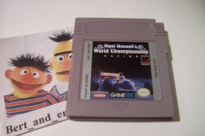 Nigel Mansell's World Championship Racing (Game Boy, 1993)